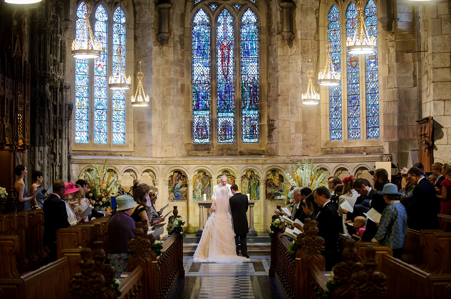 Brittany Amp Miles Wedding At St Salvator S Chapel St